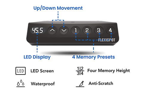 Flexispot-electric-height-adjustable-standing-desk-malaysia-EF1-control-panel-2-490x300